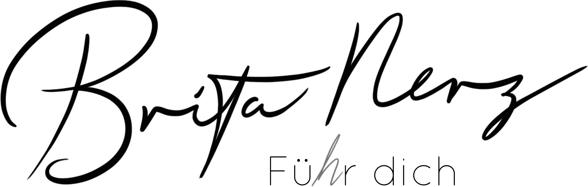 Coach Brita Nerz Logo Fü(h)r Dich