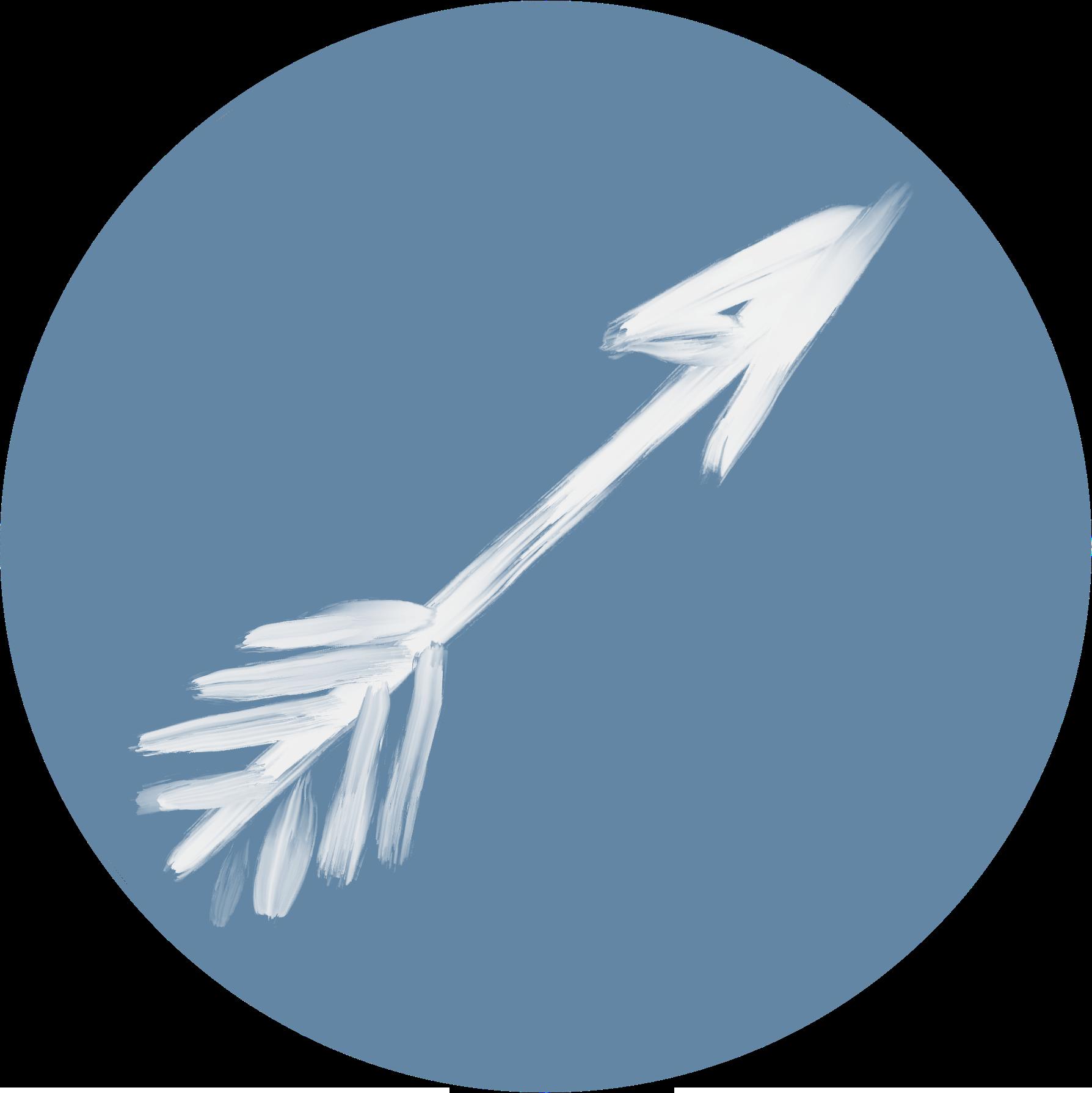 weißer Pfeil auf blauem HintergrundCoach Brita Nerz