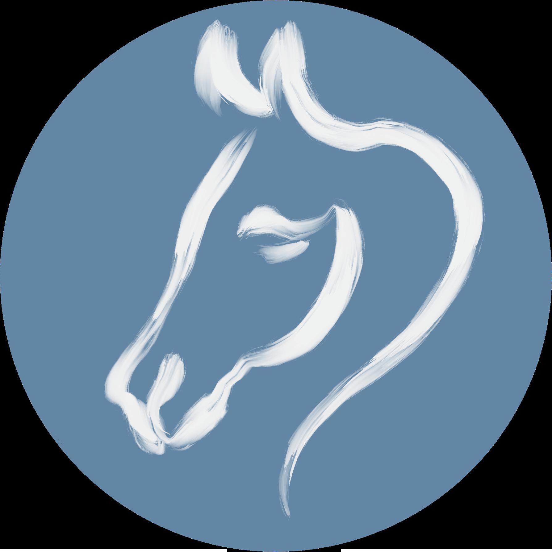 Pferdekopf-Symbol - pferdegestütztes Coaching